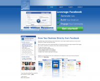 Facebook Fan Page Website Design
